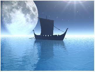 <center>Un barco de hojas... </center>